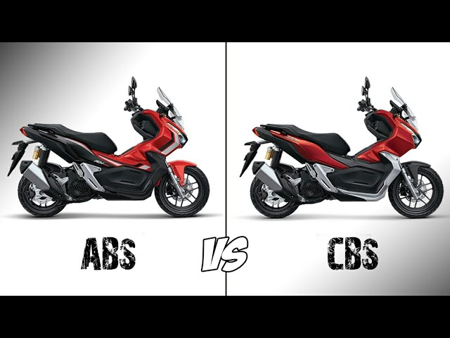8 Perbedaan Honda Adv Abs Dan Cbs Youtube