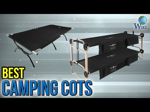 10 Best Camping Cots 2017