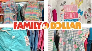 FAMILY DOLLAR SHOPPING!!! $6 AND UNDER CLOTHES!!! *CHEAP SUMMER DEALS*