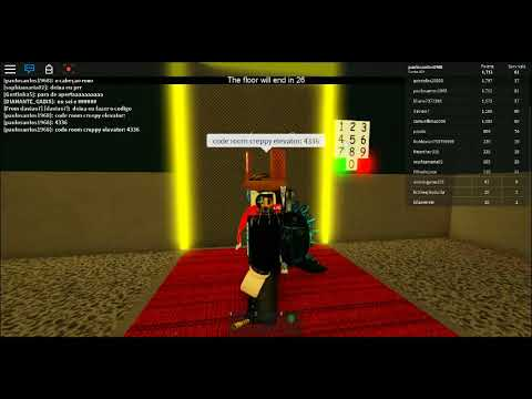 The Creepy Elevator Code For Roblox The Creepy Elevator Code Code Room By Luaaad Youtube