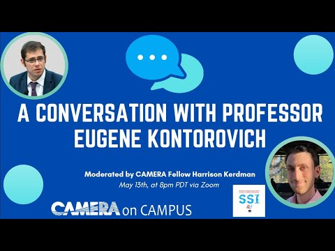 A Conversation with Eugene Kontorovich at UC Santa Barbara