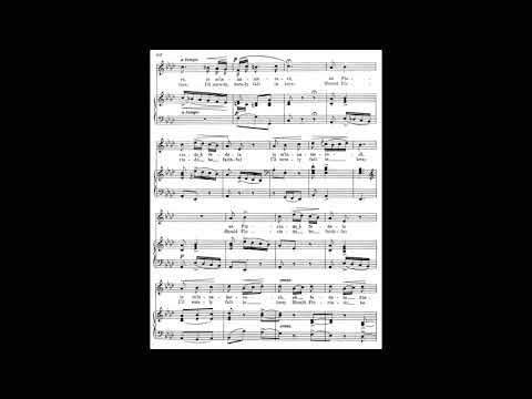 22 Se Florindo è fedele (24 Italian Songs and Arias) piano melody and accompaniment