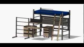 wsu pullman bunk bed assembly instructions