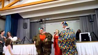 Клоуны на свадьбе