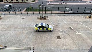 Homenaje de la Policía de Ceuta al buque 'Galicia'