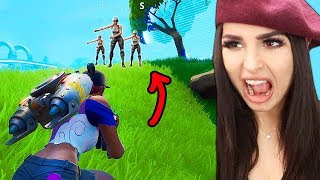 Back On FORTNITE Battle Royale (Random Squads)