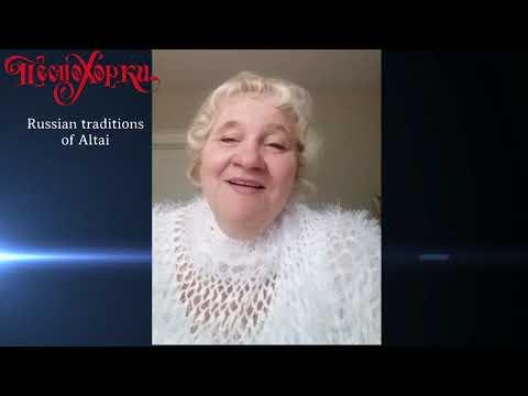 "Ольга Абрамова - основатель ансамбля ""Песнохорки"". Olga Abramova - Founder Of Ensemble ""Pesnokhorki"""