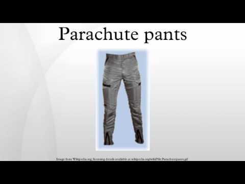 parachute pants youtube