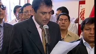 Ceremonia de Homenaje A Ex  Congresista Juvenal Ordoñez
