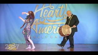 Theresa and Ed Heart of America Belly Dance Festival 2017