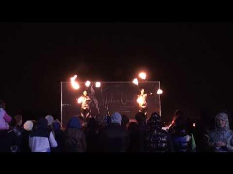 Duo Flow - Niko & Kasmir - Double staff , Live Fires Festival St.Petersburg