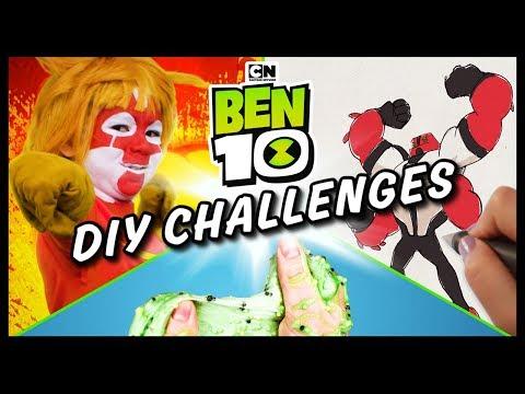 Cool Ben 10 DIY Challenges | Ben 10 | Cartoon Network