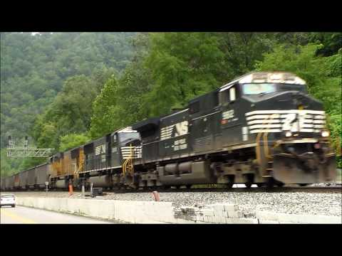 Coal Trains & Time Freights on Norfolk Southern's Pocahontas Division
