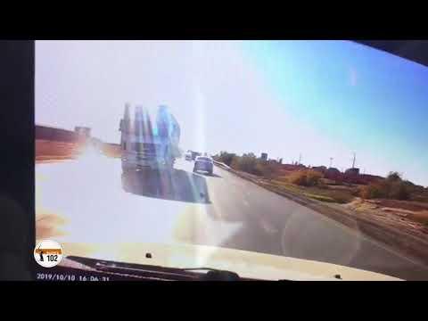 Появилось видео смертельной аварии с брянским «МАЗом» в Волгограде