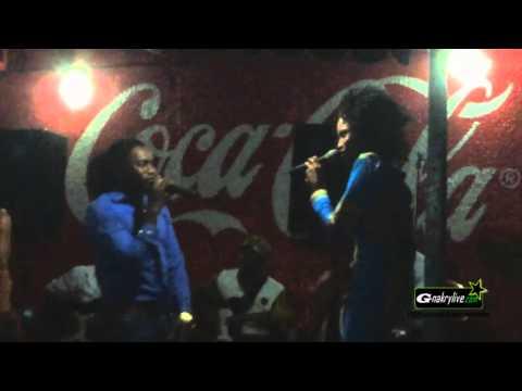Azaya feat Gnamèn Diabaté (Video live)