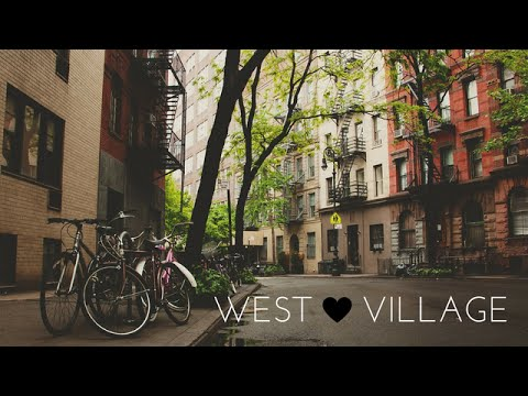 A walk in West Village, New York