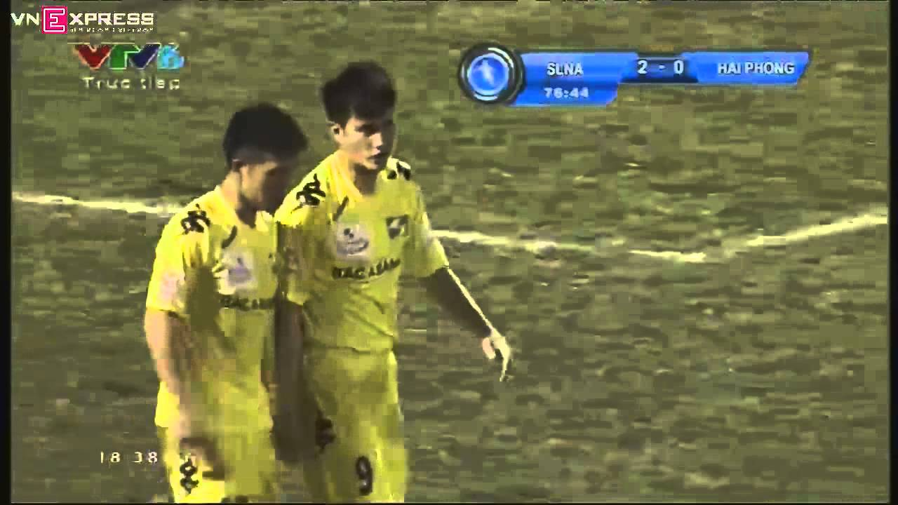Lê Công Vinh - bàn thắng 100 tại V-League