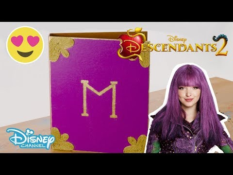 Descendants 2 | Craft Tutorial: Mal's Spell Book | Official Disney Channel UK