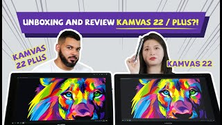Kamvas 22 and Kamvas 22 Plus UNBOXING & REVIEW