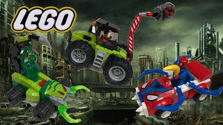 Lego Spiderman and forest tractor unboxing Bros toys review.