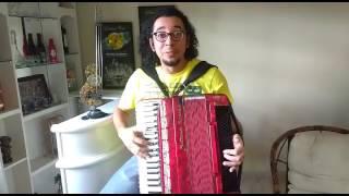 Gerson Douglas ex-sanfoneiro da banda tradição chamando a população para o baile do chopp Trembão