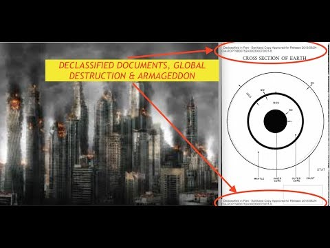 FOIA, Leaks CIA Docs, Future Pole Shift, 1,000 MPH Winds & 10,000' Tidal Wave Burying North America