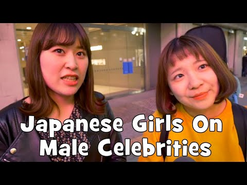 Japanese Girls React to Western Male Celebrities (Interview)