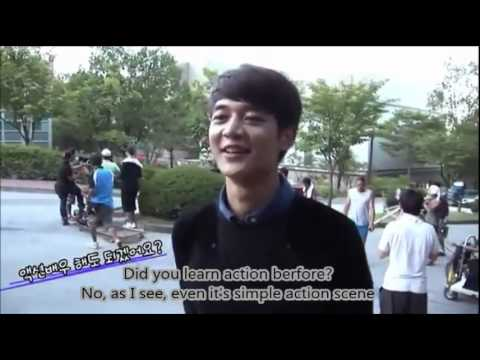 [Eng Sub] To The Beautiful You Making Film - Minho Car Scene