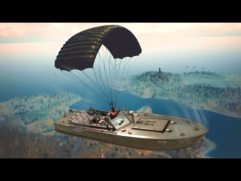 PUBG Funny Moments - BOAT CAMPING WIN! (Player Unknown's Battlegrounds)