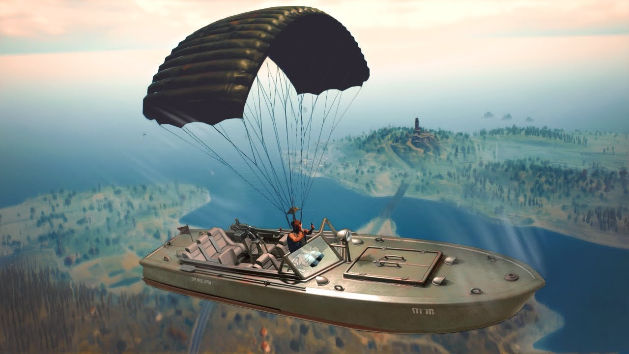 Pubg Mobile Hd Coming Soon: BOAT CAMPING WIN! (Player Unknown's