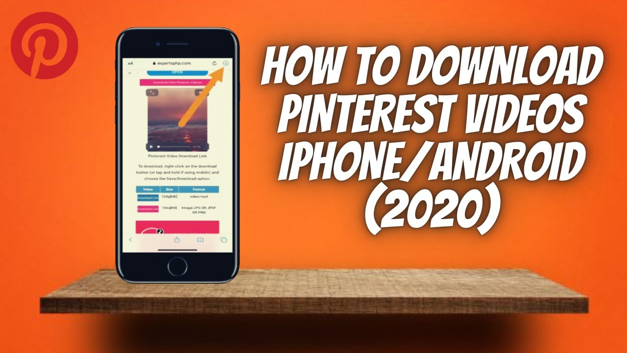 How To Download Pinterest Videos On Phone (12) ✅ Save Pinterest Videos On  iPhone, Android & iPad!