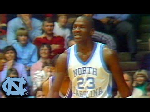 Duke vs. UNC Basketball Highlights   Michael Jordan's Last Game in Chapel Hill