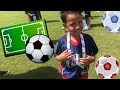 i9 Sports Soccer~Benjamin is Learning to Play Futball Soccer ! !