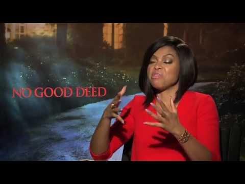 Taraji P. Henson Says She Hurt Idris Elba's Feelings While Filming No Good Deed!