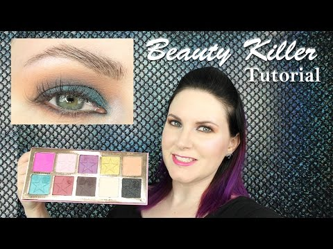 Jeffree Star Beauty Killer Palette Easy Smokey Eye Tutorial for Hooded Eyes | Phyrra