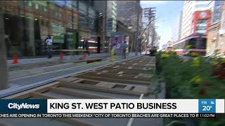 Is the King St. patio pilot working?