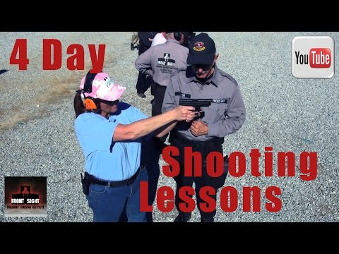 Front Sight Review-Defensive Handgun 4 Day Course-4 Day Handgun Lessons-Pistol Shooting Lessons