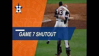 Astros pitchers keep Yanks off the board to clinch the ALCS