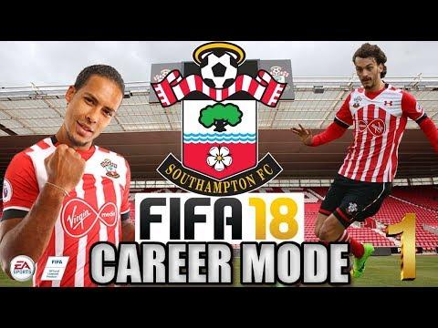 FIFA 18 SOUTHAMPTON CAREER MODE #1 - New Signings!