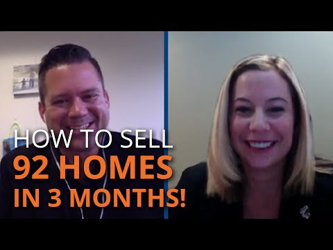 How to Sell 92 Homes in 3 Months!   REal Success Episode 9