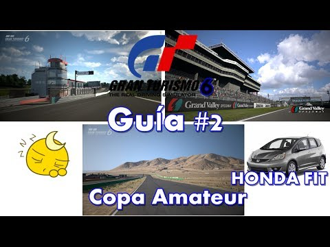 Gran Turismo 6 | Guía #2 | Novato | Copa Amateur | Brands Hatch, Grand Valley, Willow Springs