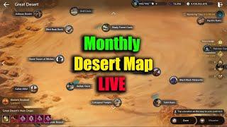 Black Desert Mobile Monthly Desert Map Live EP 122
