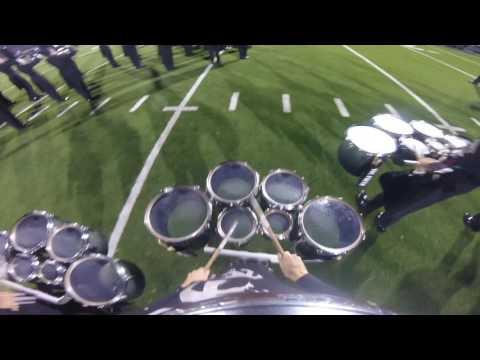 Round Rock High School Drumline -Triptych- Part 3 (Drum Break) Tenor Cam