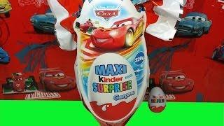 Mega Giant Kinder Surprise Maxi Eggs Cars Easter Edition
