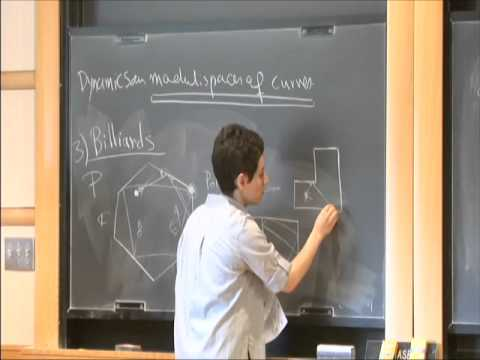"Maryam Mirzakhani on ""Dynamics on the Moduli Spaces of Curves"", I"