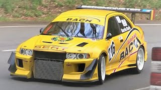 TwinCharged 650Hp Lancer Evolution VI RS || Turbo & Supercharger Sound