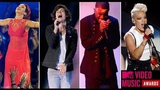 2012 VMA Performance Recap: Pink, Taylor Swift, Lil Wayne