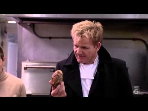 Lazy chef microwaves yesterday 39 s food kitchen nightmares for Kitchen nightmares fake