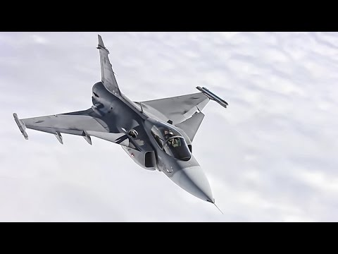 Saab JAS-39 Gripen • A Pretty Cool Plane