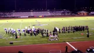 "MUSIC OF EARTH, WIND & FIRE | 2013 James Campbell HS ""Saber"" Marching Band - Kapolei MB Fest"